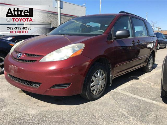 2008 Toyota Sienna CE 7 PASSENGER, LEATHER, STEERING WHEEL CONTROLS,  (Stk: 43301A) in Brampton - Image 1 of 11
