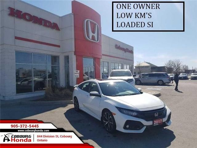 2017 Honda Civic Si (Stk: G1759) in Cobourg - Image 1 of 8