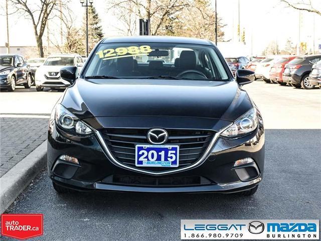 2015 Mazda Mazda3 GX- AUTOMATIC, A/C, BLUETOOTH (Stk: 1809) in Burlington - Image 2 of 21