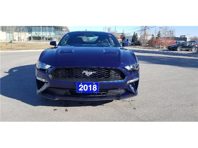 2018 Ford Mustang  (Stk: P8480) in Unionville - Image 1 of 5
