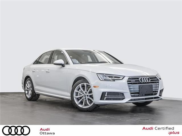2018 Audi A4 2.0T Progressiv (Stk: 52237) in Ottawa - Image 1 of 19