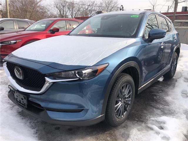 2019 Mazda CX-5 GS (Stk: N190190) in Markham - Image 1 of 5