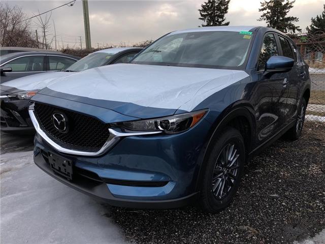 2019 Mazda CX-5 GS (Stk: N190253) in Markham - Image 1 of 5