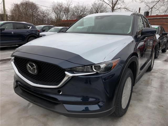 2019 Mazda CX-5 GS (Stk: N190263) in Markham - Image 1 of 5