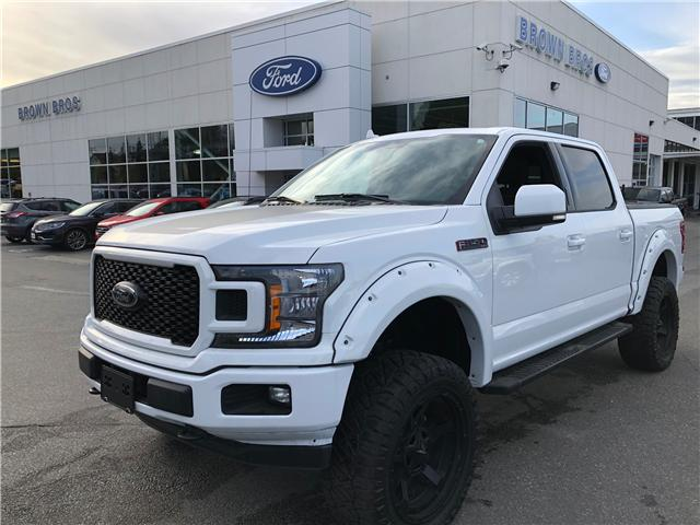 2018 Ford F-150 XLT 1FTEW1E51JFC50232 LP1996 in Vancouver