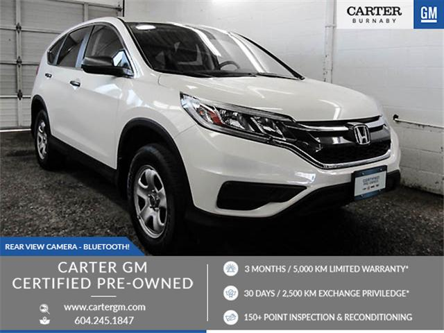 2016 Honda CR-V LX (Stk: H6-36501) in Burnaby - Image 1 of 24