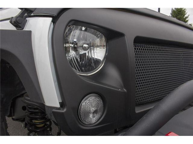 2018 Jeep Wrangler JK Unlimited Sahara (Stk: J810233) in Surrey - Image 9 of 30