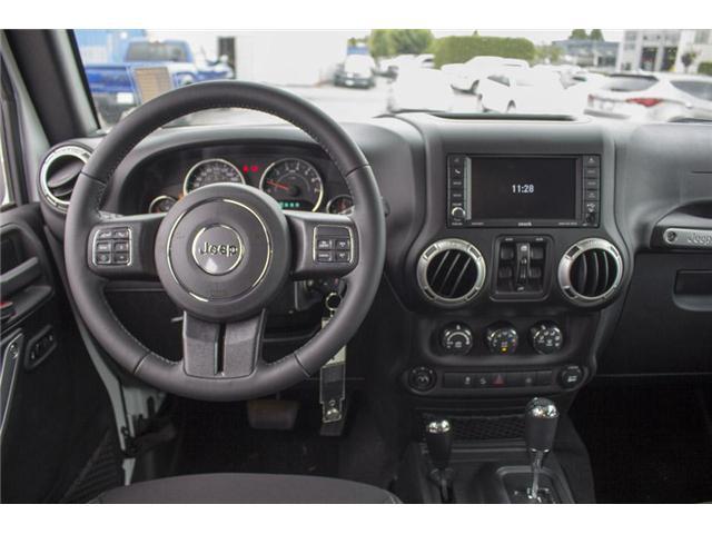 2018 Jeep Wrangler JK Unlimited Sahara (Stk: J810233) in Surrey - Image 16 of 30