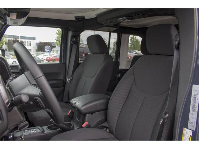 2018 Jeep Wrangler JK Unlimited Sport (Stk: J810302) in Surrey - Image 14 of 28