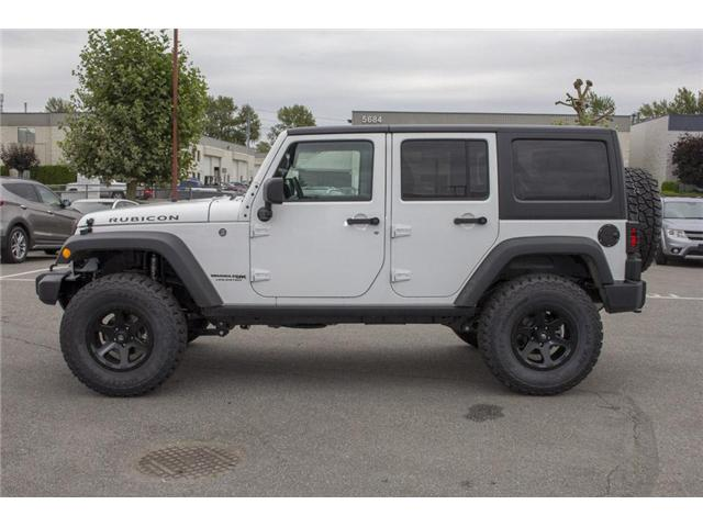 2018 Jeep Wrangler JK Unlimited Rubicon (Stk: J810221) in Surrey - Image 4 of 28
