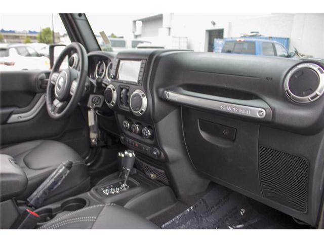 2018 Jeep Wrangler JK Unlimited Sahara (Stk: J864102) in Surrey - Image 18 of 28