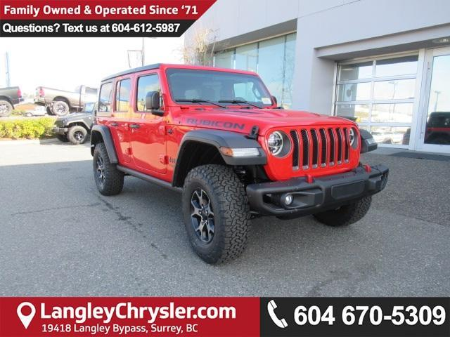 2018 Jeep Wrangler Unlimited Rubicon (Stk: J104376) in Surrey - Image 1 of 13