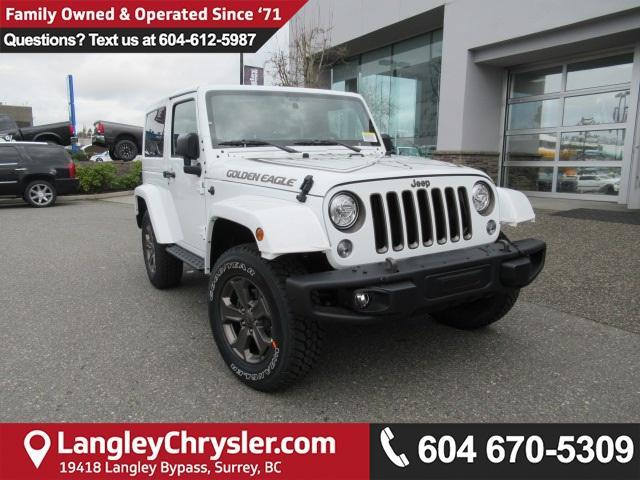 2018 Jeep Wrangler JK Sport (Stk: J886147) in Surrey - Image 1 of 11