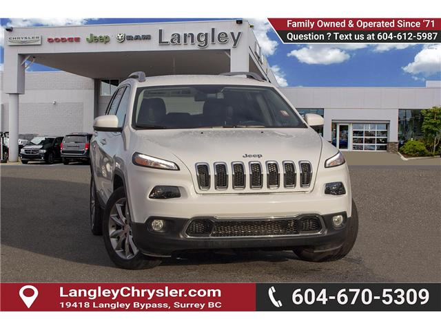 2018 Jeep Cherokee Limited (Stk: EE899990) in Surrey - Image 1 of 27