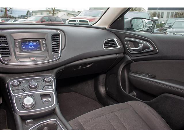 2015 Chrysler 200 Limited (Stk: EE896890A) in Surrey - Image 13 of 25