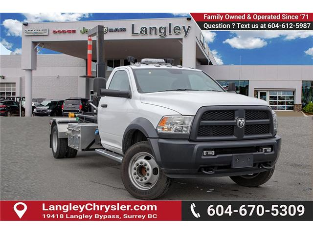 2018 RAM 5500 Chassis ST/SLT (Stk: EE900210) in Surrey - Image 1 of 19