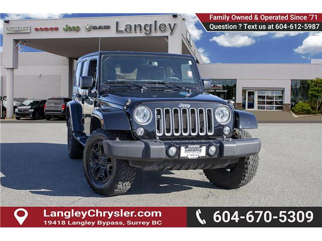 2016 Jeep Wrangler Unlimited Sahara (Stk: K549188A) in Surrey - Image 1 of 24