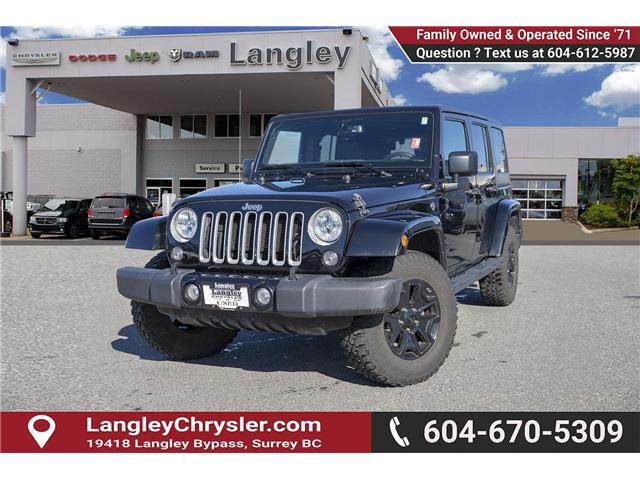 2016 Jeep Wrangler Unlimited Sahara (Stk: K549188A) in Surrey - Image 3 of 24