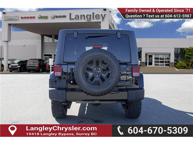 2016 Jeep Wrangler Unlimited Sahara (Stk: K549188A) in Surrey - Image 5 of 24