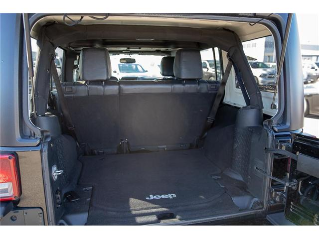2016 Jeep Wrangler Unlimited Sahara (Stk: K549188A) in Surrey - Image 7 of 24