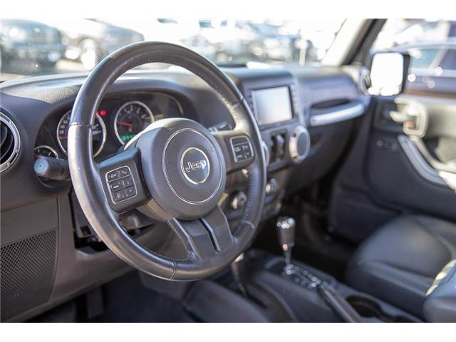 2016 Jeep Wrangler Unlimited Sahara (Stk: K549188A) in Surrey - Image 9 of 24
