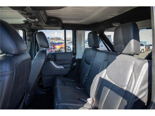 2016 Jeep Wrangler Unlimited Sahara (Stk: K549188A) in Surrey - Image 10 of 24