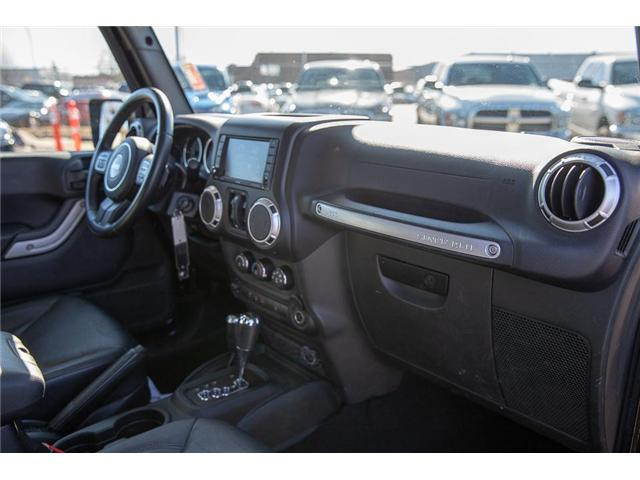 2016 Jeep Wrangler Unlimited Sahara (Stk: K549188A) in Surrey - Image 14 of 24