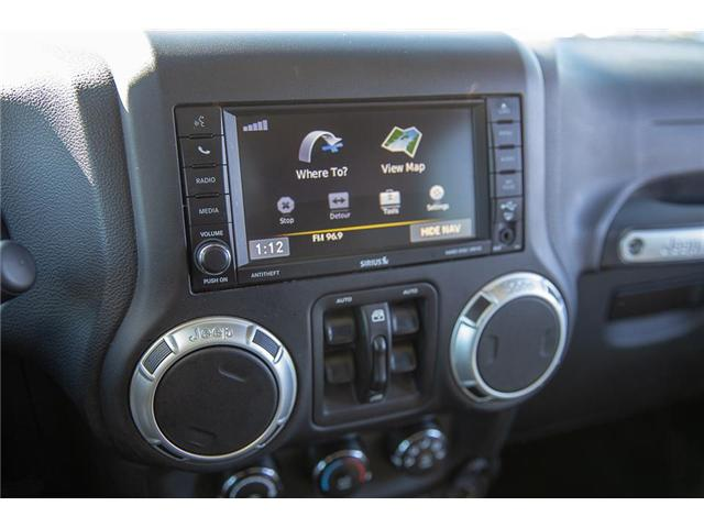 2016 Jeep Wrangler Unlimited Sahara (Stk: K549188A) in Surrey - Image 19 of 24