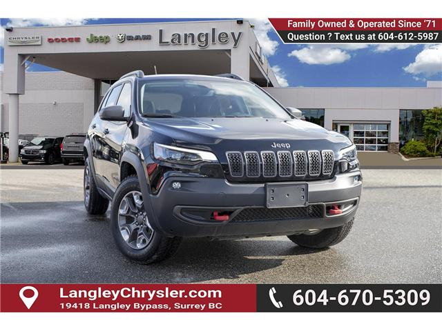 2019 Jeep Cherokee Trailhawk (Stk: EE901180) in Surrey - Image 1 of 25