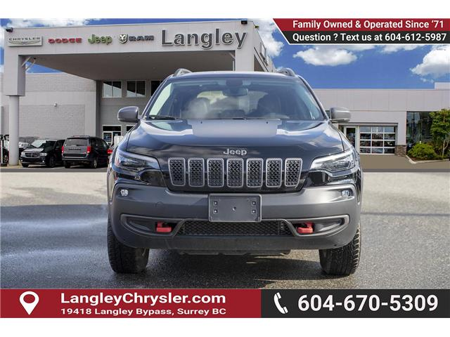 2019 Jeep Cherokee Trailhawk (Stk: EE901180) in Surrey - Image 2 of 25