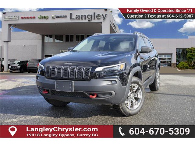 2019 Jeep Cherokee Trailhawk (Stk: EE901180) in Surrey - Image 3 of 25