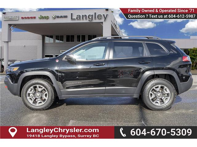 2019 Jeep Cherokee Trailhawk (Stk: EE901180) in Surrey - Image 4 of 25