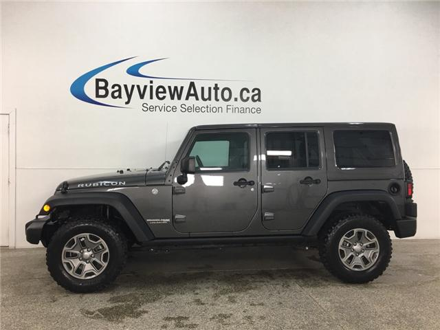 2018 Jeep Wrangler JK Unlimited Rubicon (Stk: 34592W) in Belleville - Image 1 of 30