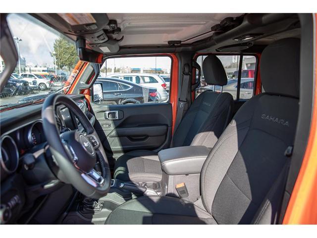2018 Jeep Wrangler Unlimited Sahara (Stk: EE901490) in Surrey - Image 8 of 25