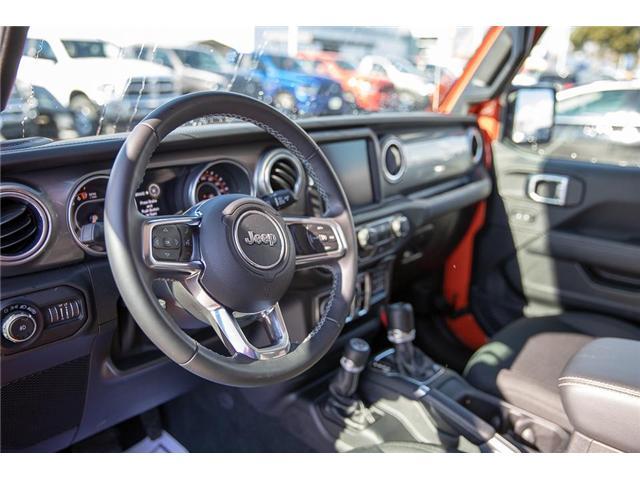 2018 Jeep Wrangler Unlimited Sahara (Stk: EE901490) in Surrey - Image 9 of 25