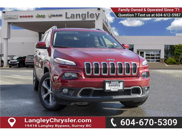 2016 Jeep Cherokee Limited (Stk: K209464A) in Surrey - Image 1 of 25