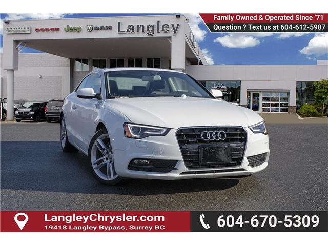 2013 Audi A5 2.0T Premium Plus (Stk: J893195B) in Surrey - Image 1 of 20