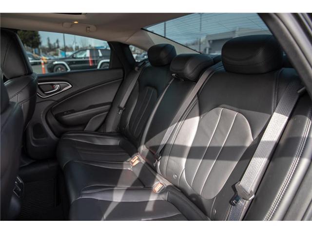 2015 Chrysler 200 C (Stk: EE901560) in Surrey - Image 9 of 24
