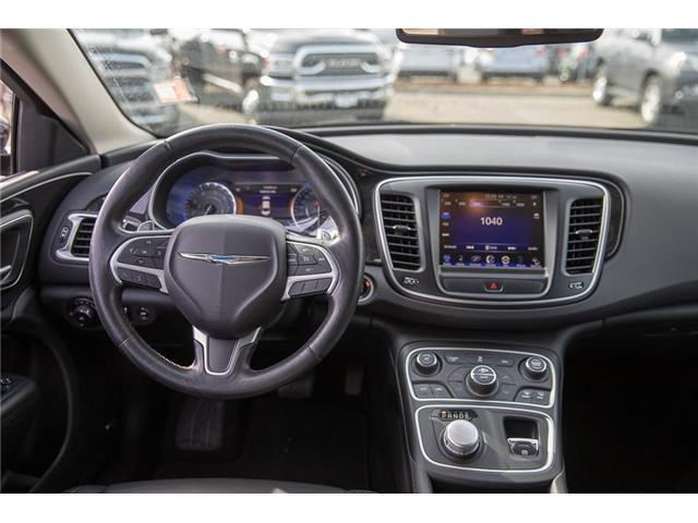 2015 Chrysler 200 C (Stk: EE901560) in Surrey - Image 11 of 24