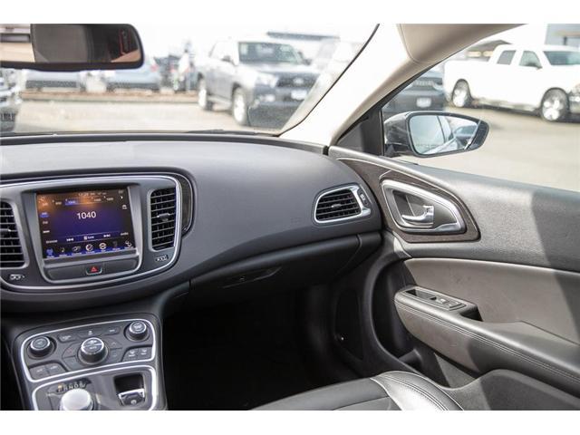 2015 Chrysler 200 C (Stk: EE901560) in Surrey - Image 12 of 24
