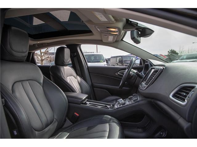 2015 Chrysler 200 C (Stk: EE901560) in Surrey - Image 15 of 24