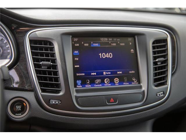 2015 Chrysler 200 C (Stk: EE901560) in Surrey - Image 19 of 24