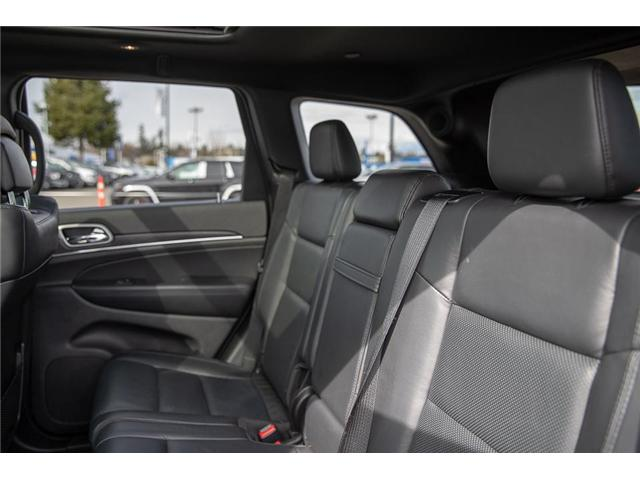 2018 Jeep Grand Cherokee Limited (Stk: EE901790) in Surrey - Image 11 of 26