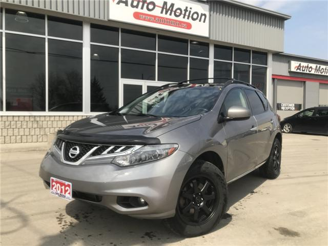 2012 Nissan Murano SL (Stk: T11691) in Chatham - Image 1 of 21