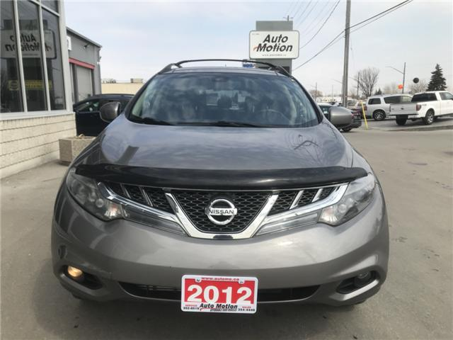 2012 Nissan Murano SL (Stk: T11691) in Chatham - Image 4 of 21