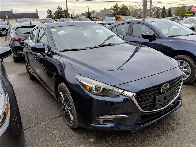 2018 Mazda Mazda3 GT (Stk: K7509) in Peterborough - Image 1 of 10