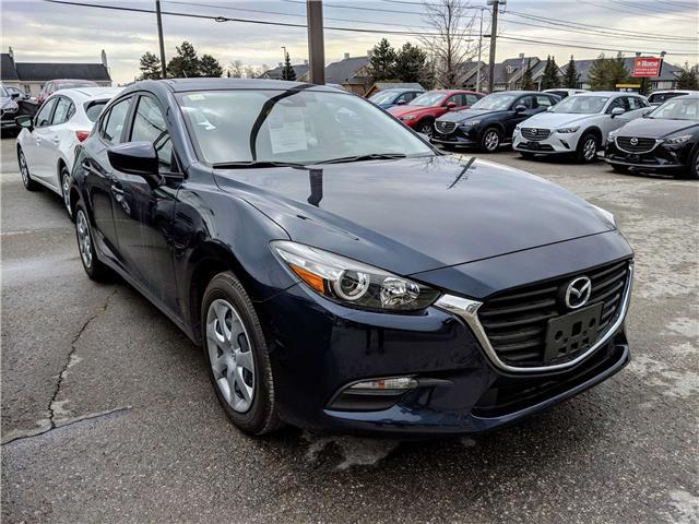 2018 Mazda Mazda3 GX (Stk: I7298) in Peterborough - Image 1 of 10