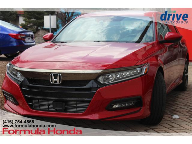 2018 Honda Accord Sport (Stk: 18-0208D) in Scarborough - Image 5 of 27
