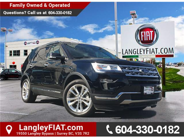 2018 Ford Explorer Limited (Stk: LF010020) in Surrey - Image 1 of 30