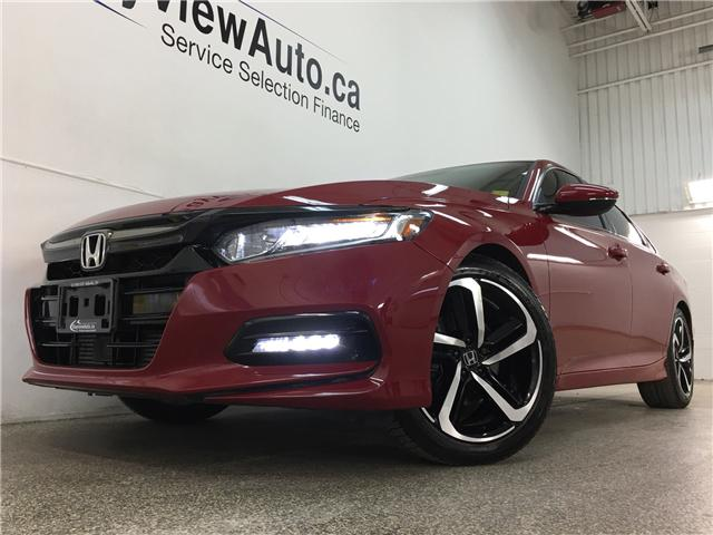 2018 Honda Accord Sport (Stk: 34540R) in Belleville - Image 1 of 30